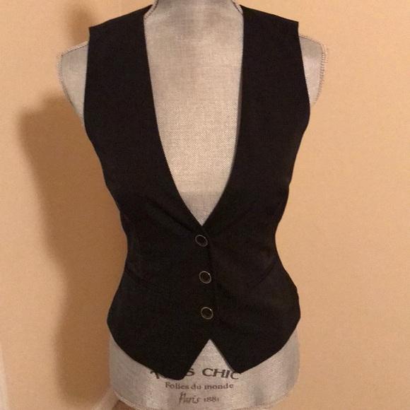 2fcab63ce03e Ted Baker women s black vest size 0 (US 2) EUC